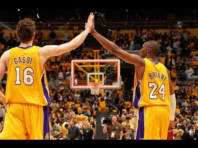 Kobe Bryant and Pau Gasol - See You Again