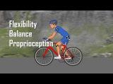 Правильное падение на велосипеде при движении в группе