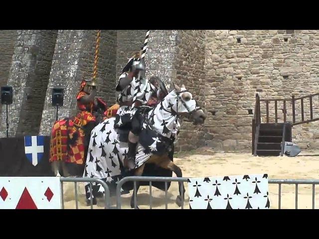 2010 Франция Бретань Динан конный турнир