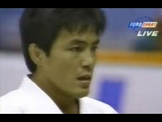 JUDO 1995 World Championships: Toshihiko Koga 古賀 稔彦 (JPN) - Djamel Bouras (FRA)