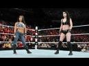 WWE Raw, 02/03/15 Paige Vs Nikki Bella, Aj Lee Returns, Español - Latino