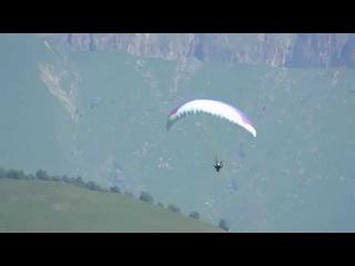 параплан падение 2014 Paragliding Crash