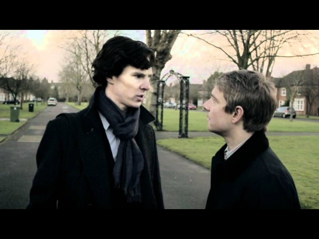 John/Sherlock - Ёжик и Медвежонок - Teddy and Hedgeling (with english subtitles)