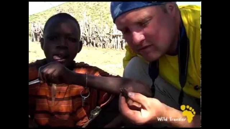 Жизнь в племени Химба часть 1