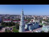 Cъемка с воздуха 4k, HD видео / Aerial Tambov /  Парк культуры и отдыха, Фестиваль красок ColorFest