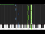 This Is Halloween - The Nightmare Before Christmas Piano Tutorial (Synthesia)