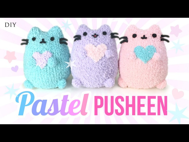 DIY Pusheen Cat Plush Make Adorable Budget Plushies Using SOCKS