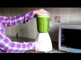 Как приготовить полезный зеленый коктейль