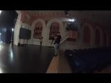Съёмки клипа Тучи в Питере. Зазеркалье ActionCamera 2
