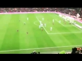 Leo Messi free-kick goal against Espanyol from the stands