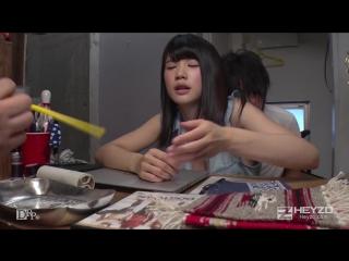 Секс работницы магазина одежды на глазах у клиента (японка,секс,минет,all sex, blowjob, public, doggy style, cream pie)