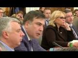 Перепалка Саакашвили и Авакова в Верховной Раде