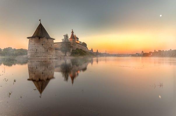 Псков. Утро... © Гордеев Эдуард