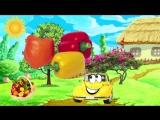 Мультфильм про Машинку Би Бип - овощи и фрукты для детей