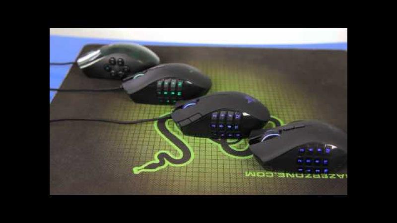Обзор игровых MMO мышек Razer Naga, Naga Epic, Naga Hex, Naga 2012