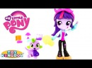 My Little Pony Twilight Sparkle Slumber Party Doll Playset Equestria Girls Minis Toy Kingdom