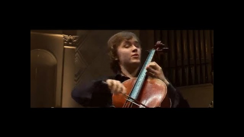 Ivan Karizna plays Tchaikovsky Variations on a Rococo Theme