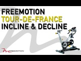 our de France Indoor Cycle Incline and Decline Time-lapse