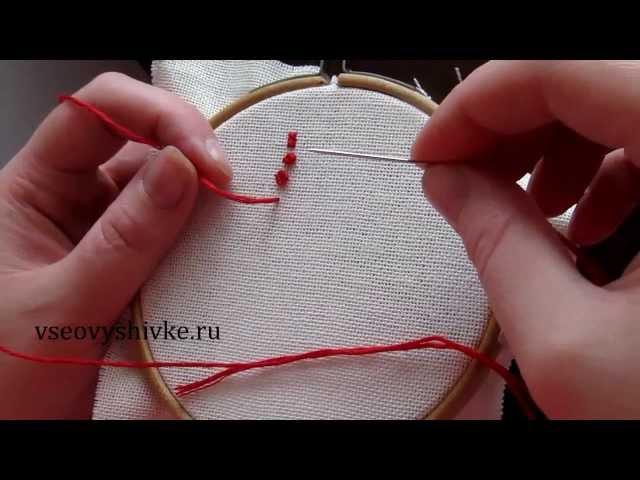 как сделать французский узелок