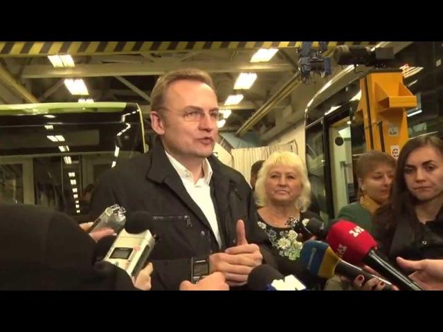 У Львові презентували перший електробус власного виробництва