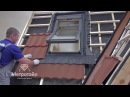 Монтаж мансардных окон на черепице Метротайл Metrotile