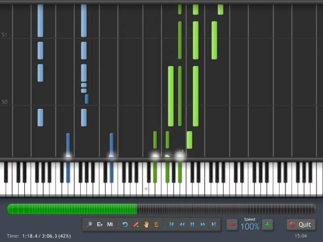 Spiderman - Main Theme - Piano Tutorial Synthesia