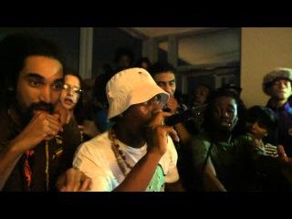 Threatz - Denzel Curry feat Rob Banks live at Boiler Room Rap Life Miami