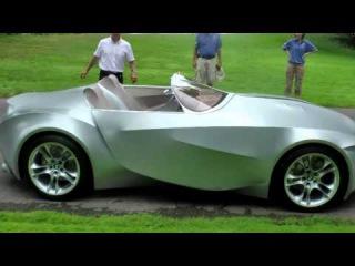 Приколы на дороге: Тряпочный БМВ и электромобиль будущего от БМВ