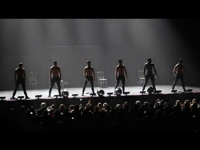 DWTS Live! Dance All Night Tour - Pony - The Guys