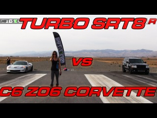 Turbo Jeep SRT-8 vs C6 Z06