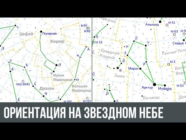 Ориентация на звездном небе Как можно ориентироваться по звездам смотреть онлайн без регистрации