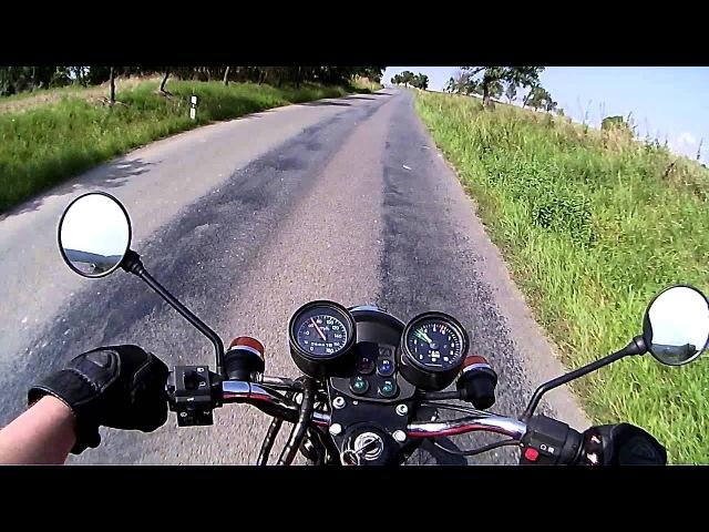 Projížďka na Jawě 350/638 (short ride)
