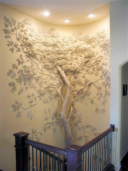 Как сделать объемное дерево 3d