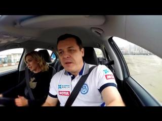 New Volkswagen Jetta- Тест-драйв в программе 'Москва рулит'._HD