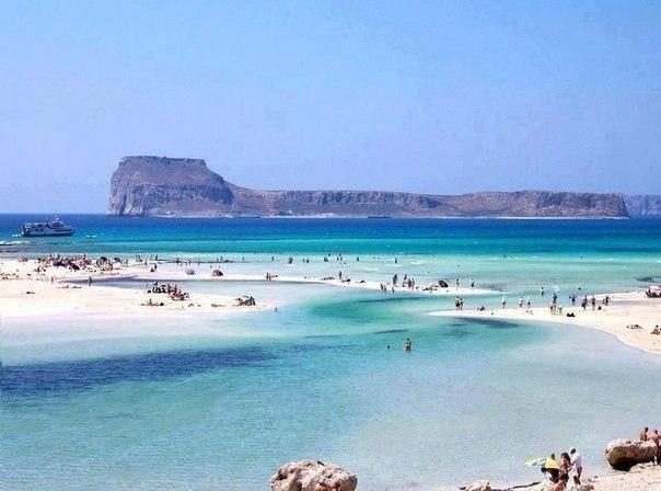 Лагуна Балос, Крит, Греция