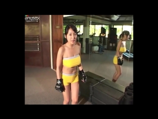 Fighting japanese sexy girl (pov)