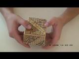 Японская шкатулка головоломка
