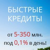 Взять кредит в Беларуси | лизинг | 0,1% в день