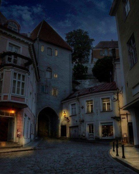 Старый город, Таллин, Эстония