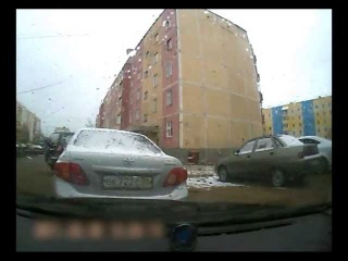 ДТП в городе Ноябрьске (ЯНАО)