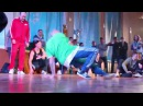 B-Boy DED vs B-Boy Медведь (Green Dancers) [Новогодний Вертел 2015]