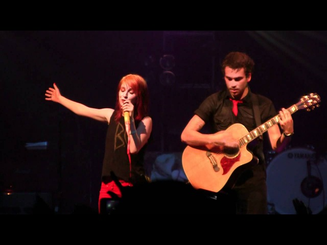 Paramore @ FBR15- My Heart *Acoustic* (HD) Live in NYC on September 7, 2011