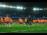 ПСЖ - Шахтер: Тренировка перед матчем