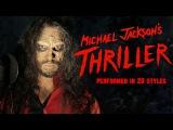 Michael Jackson - Thriller Ten Second Songs 20 Style Halloween Cover