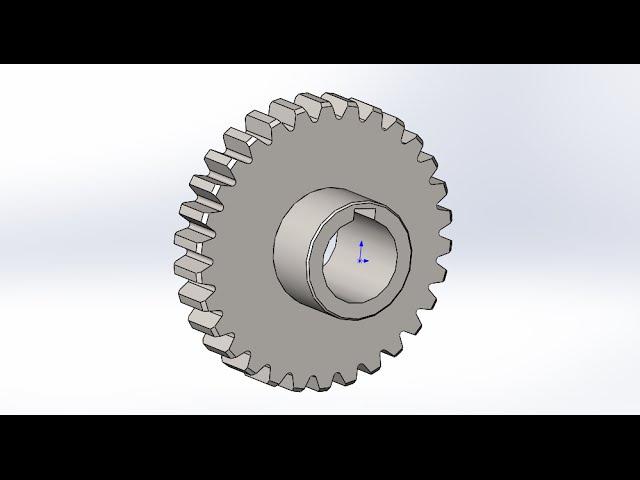 Solidworks Создание модели шестерни Solidworks Creating gear model