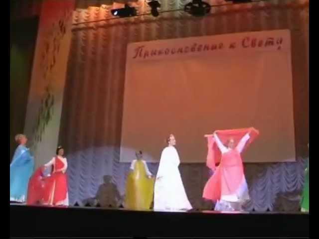 танец ангела Брахма Кумарис Прикосновение к свету .