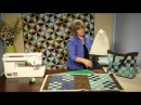 How to Make Quilting Quickly's Go Everywhere Bag From Light and Dark Precut Batik Strips