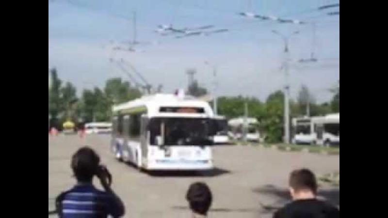 34-й конкурс водителей троллейбуса, 1869 - БКМ 321 01.06.2013