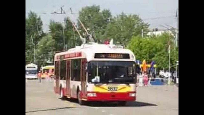 34-й конкурс водителей троллейбуса, 5832 - БКМ 321 01.06.2013