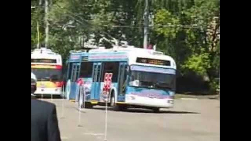 34-й конкурс водителей троллейбуса, 2831 - БКМ 321 01.06.2013